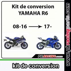 Kit de conversion R6 08-16 en  R6 2017..