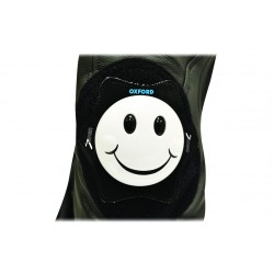 SLIDERS DE GENOU SMILEY BLANC