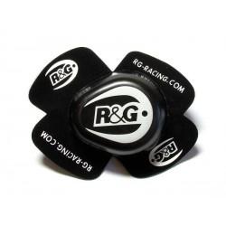 Sliders genou R&G RACING noir